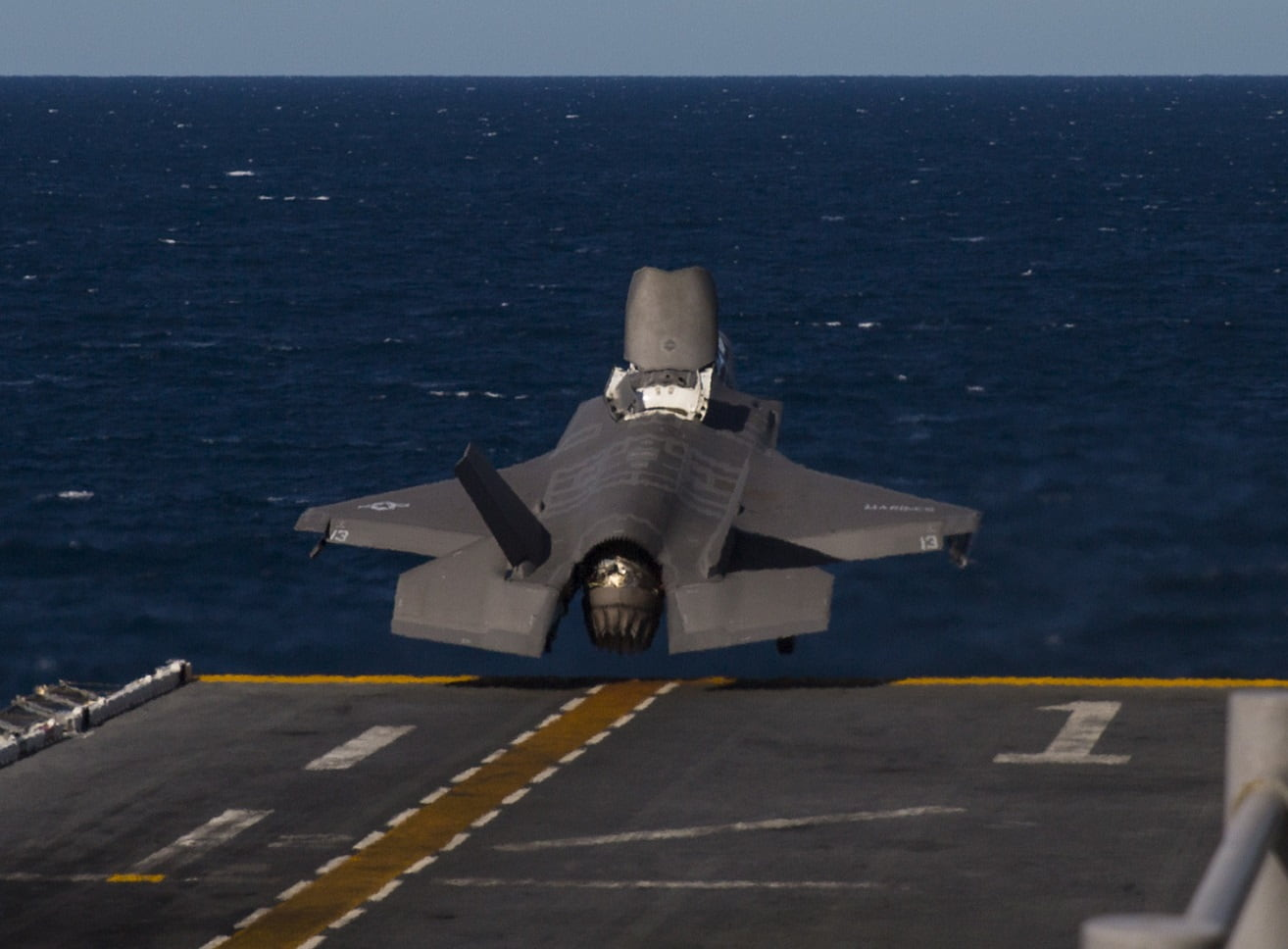 U S  Navy released video of impressive F-35 launch from