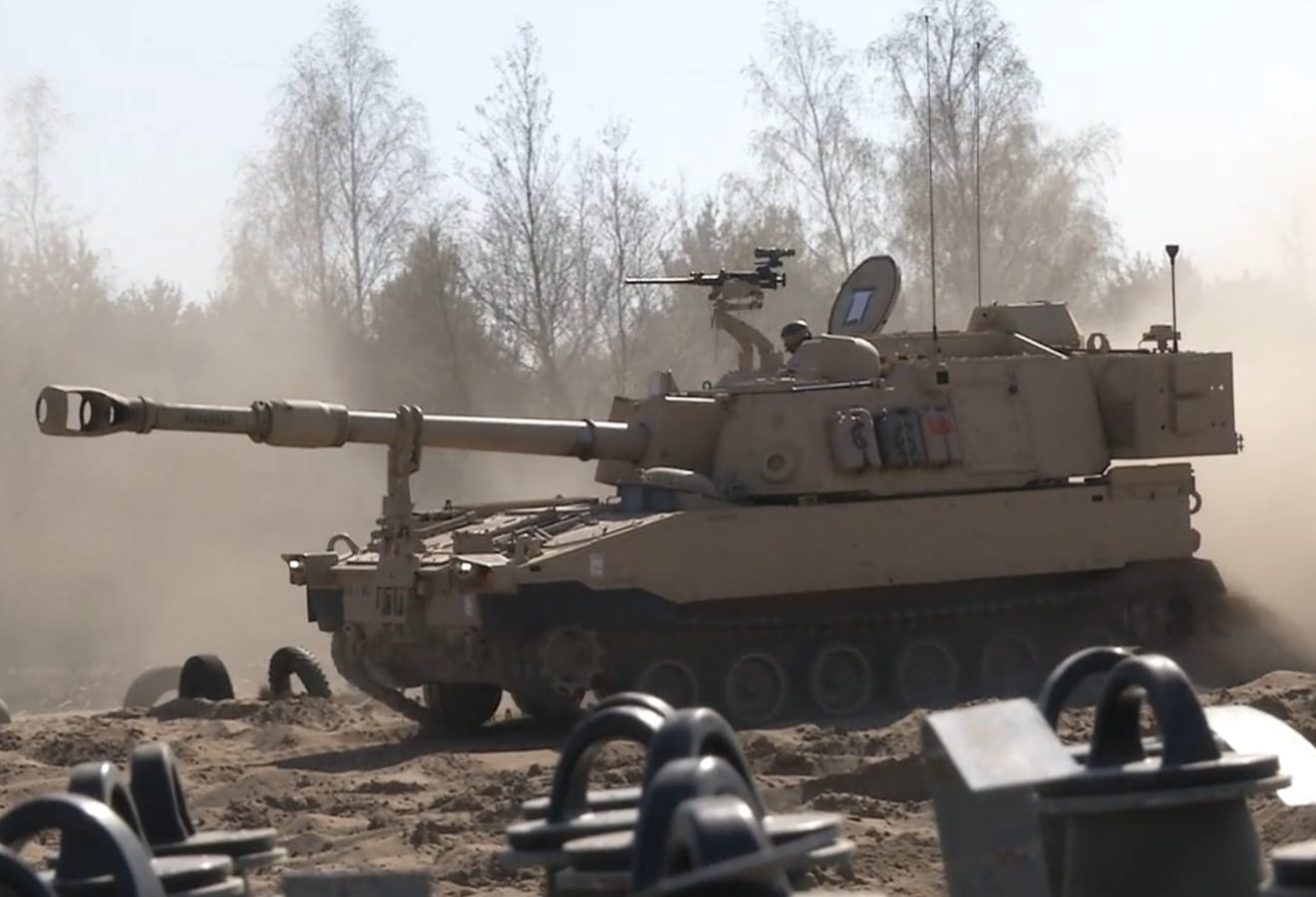 U.S. Field artillery back to learning manual methods after Russian intervention in Ukraine