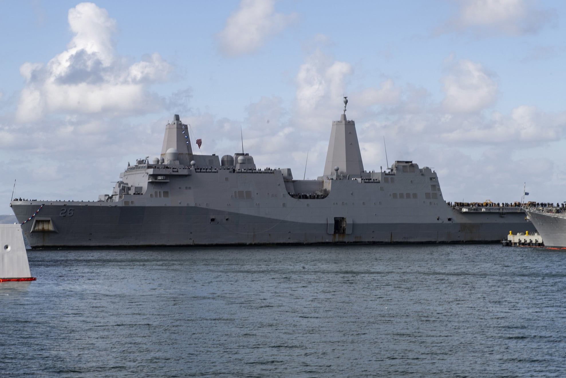 USS John P. Murtha amphibious transport dock ship returns from 7-month deployment – Defence Blog