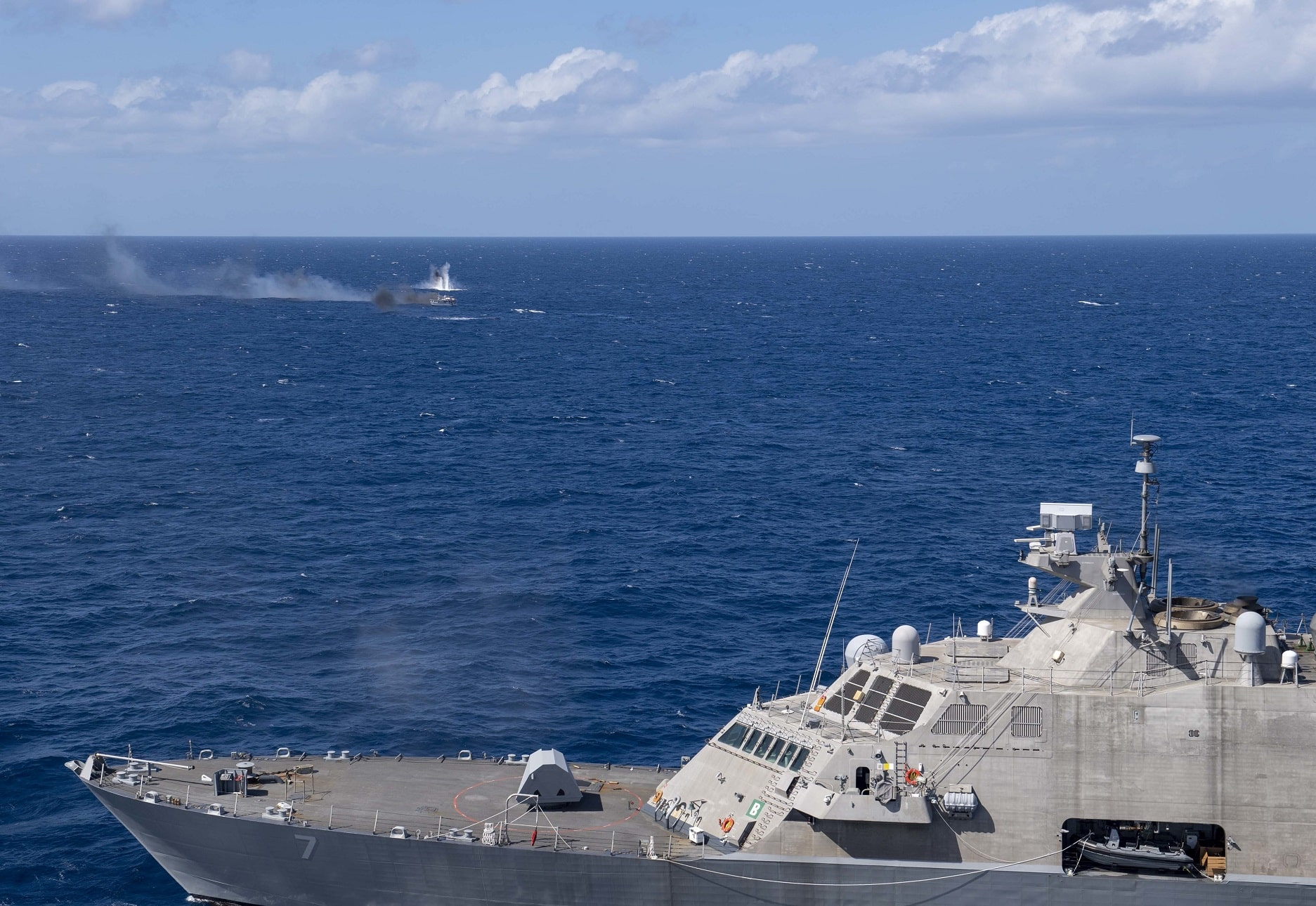 U.S. Navy's newest warship sinks vessel in western Atlantic – Defence Blog