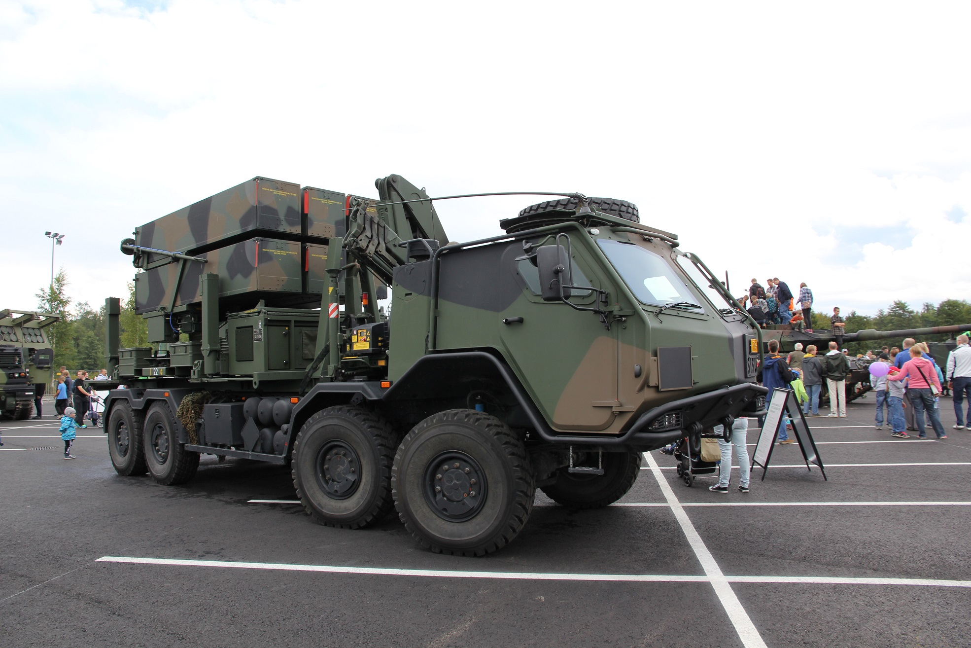 Raytheon contracted for National Advanced Surface to Air Missile System