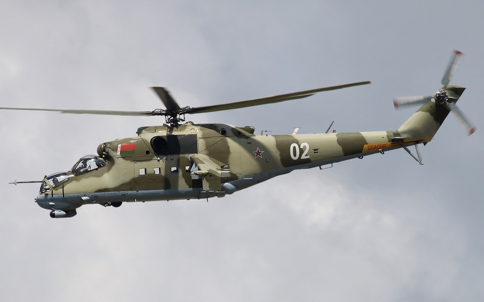 Belarus' Mi-24 helicopter suspected of violating Lithuania's airspace