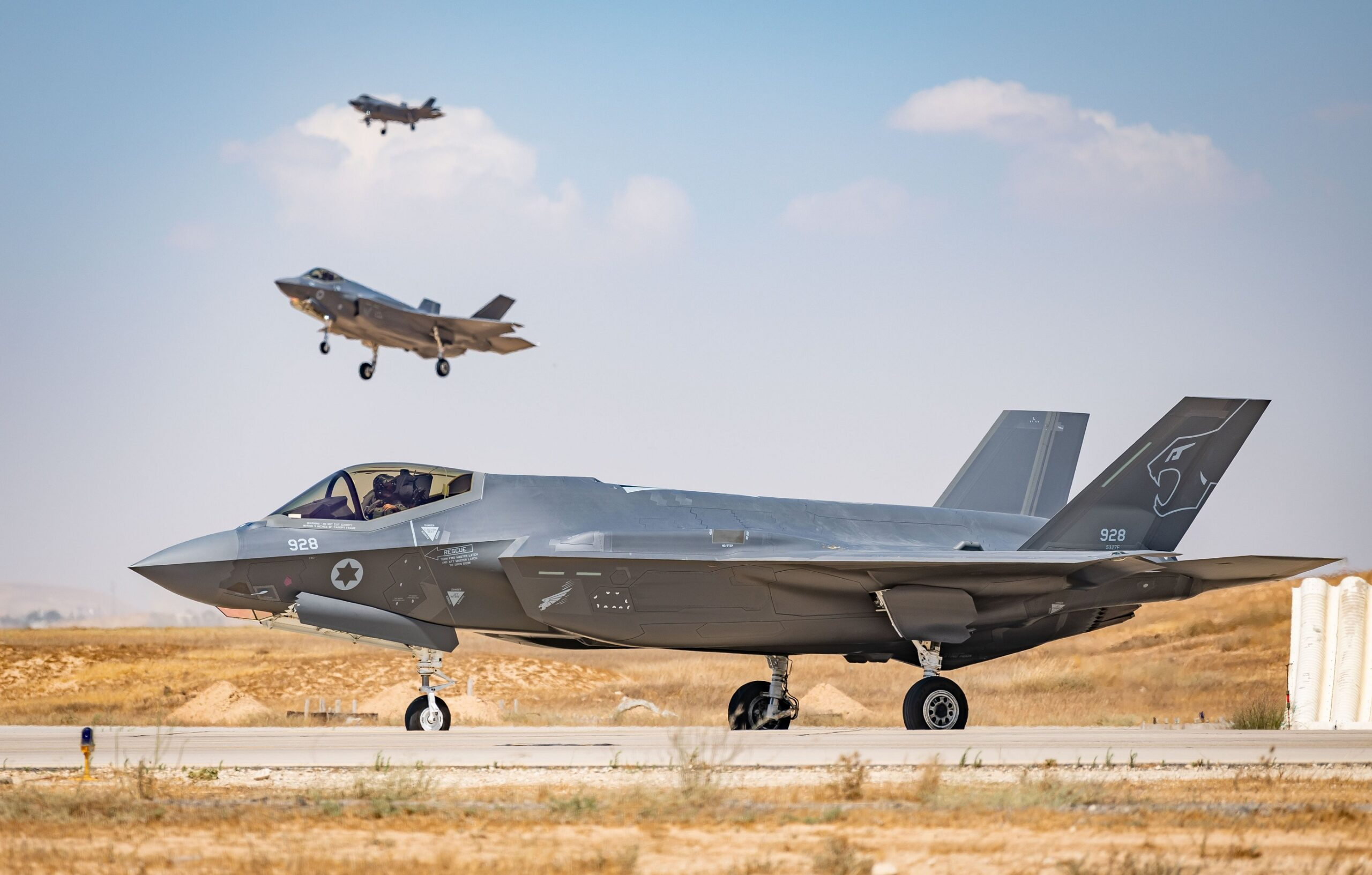 Israeli Air Force declares operating capability for second F-35I squadron