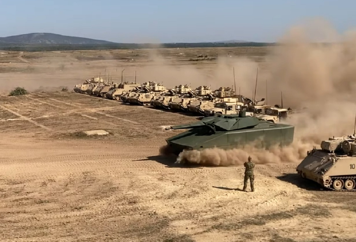 Rheinmetall releases new video of Lynx KF41 fighting vehicle