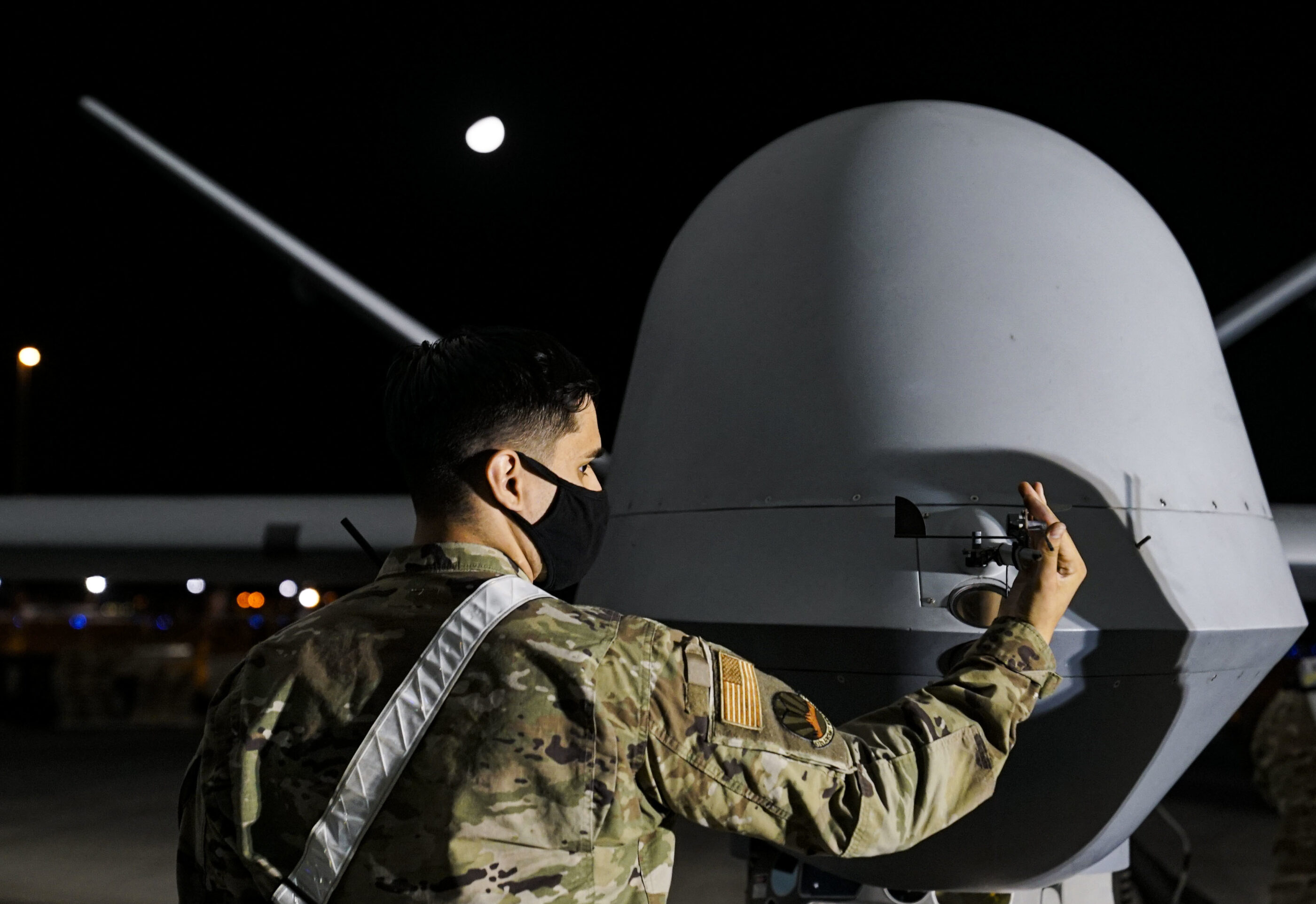 Pentagon activates MQ-9 attack drone to aid civil authorities in California