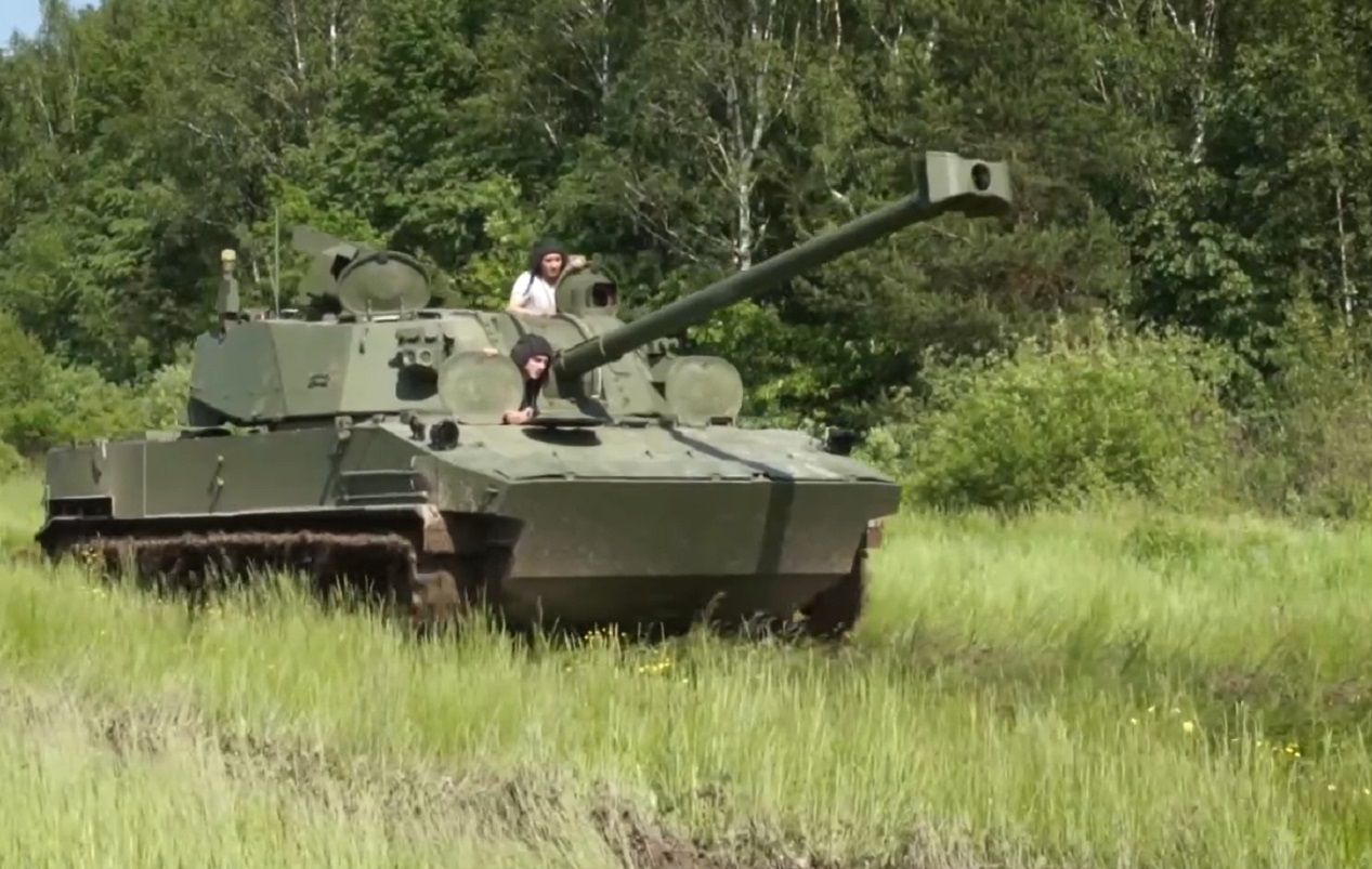 Russia completes acceptance tests of new air-droppable self-propelled gun