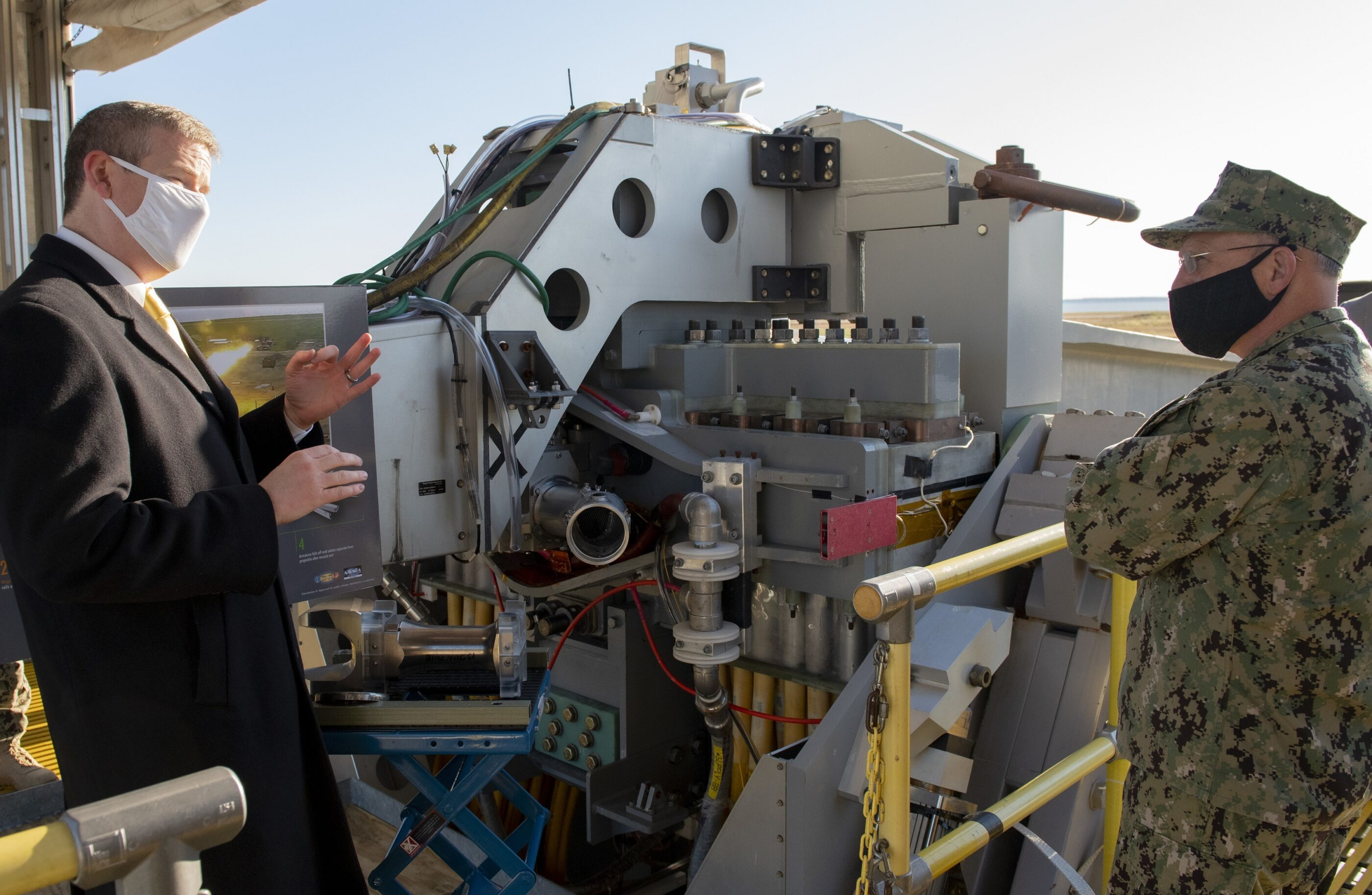 Chief of Naval Operations: directed energy weapons are not science fiction