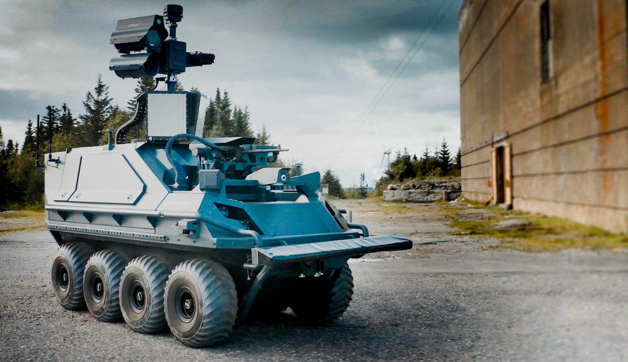 German weapons maker unveils its new unmanned ground vehicle