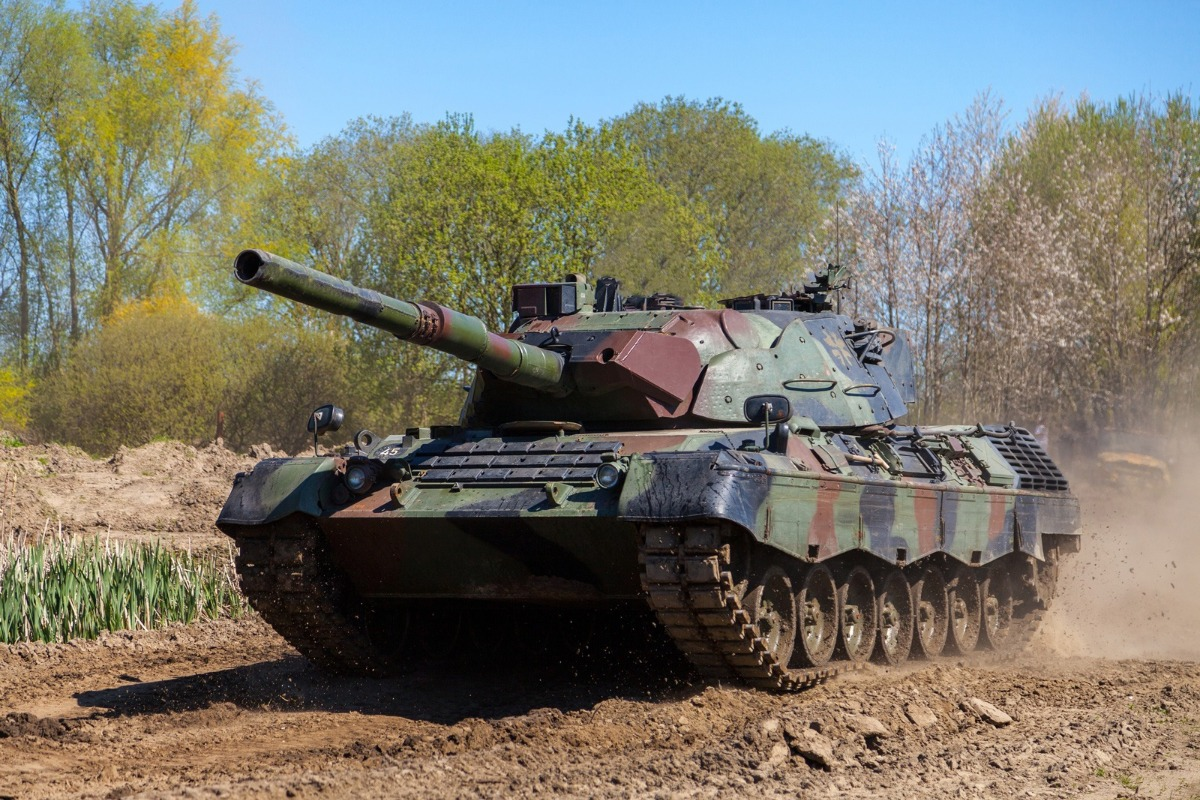 NATO announces Leopard-1 tank recycling results