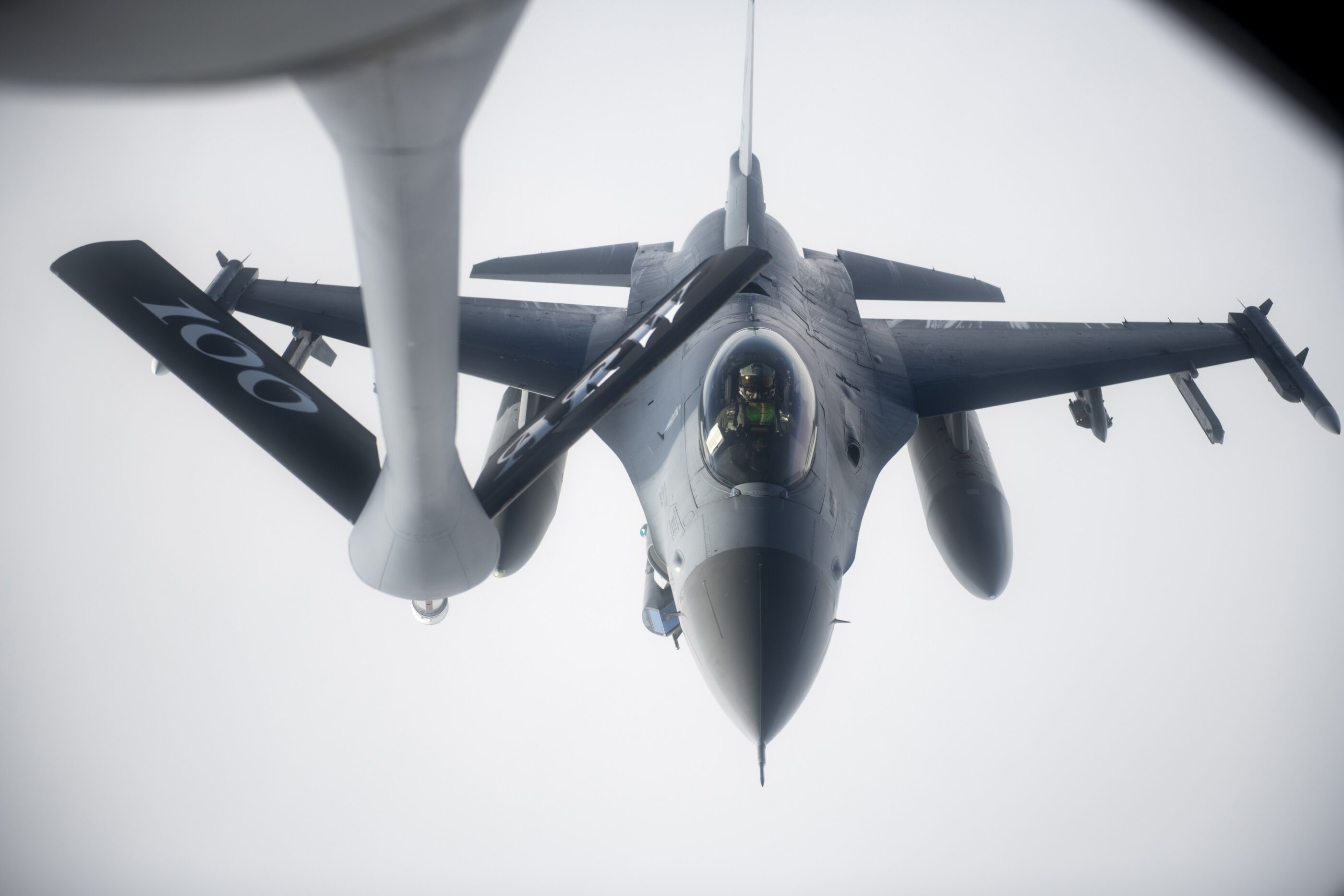 U.S. Air Force conducts military operations over Black Sea