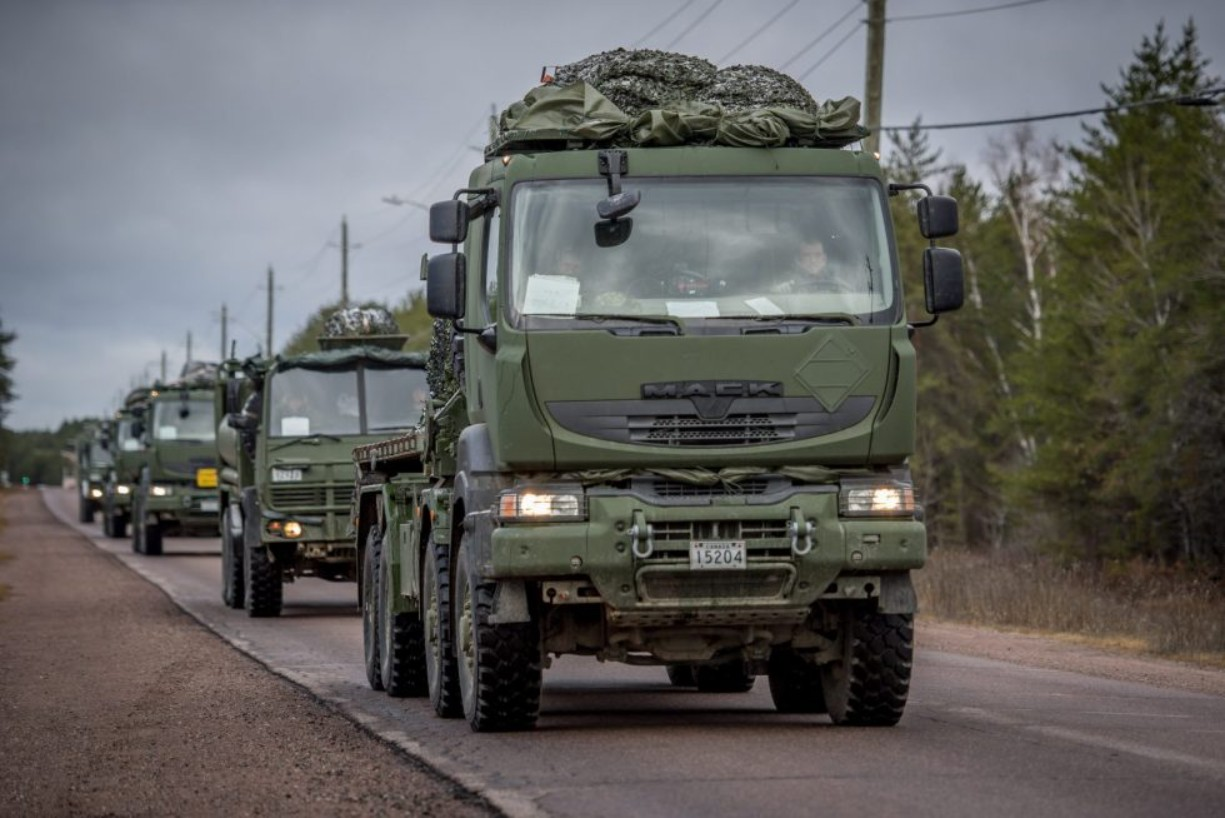 MSVS trucks complete their first year in service in the Canadian Army
