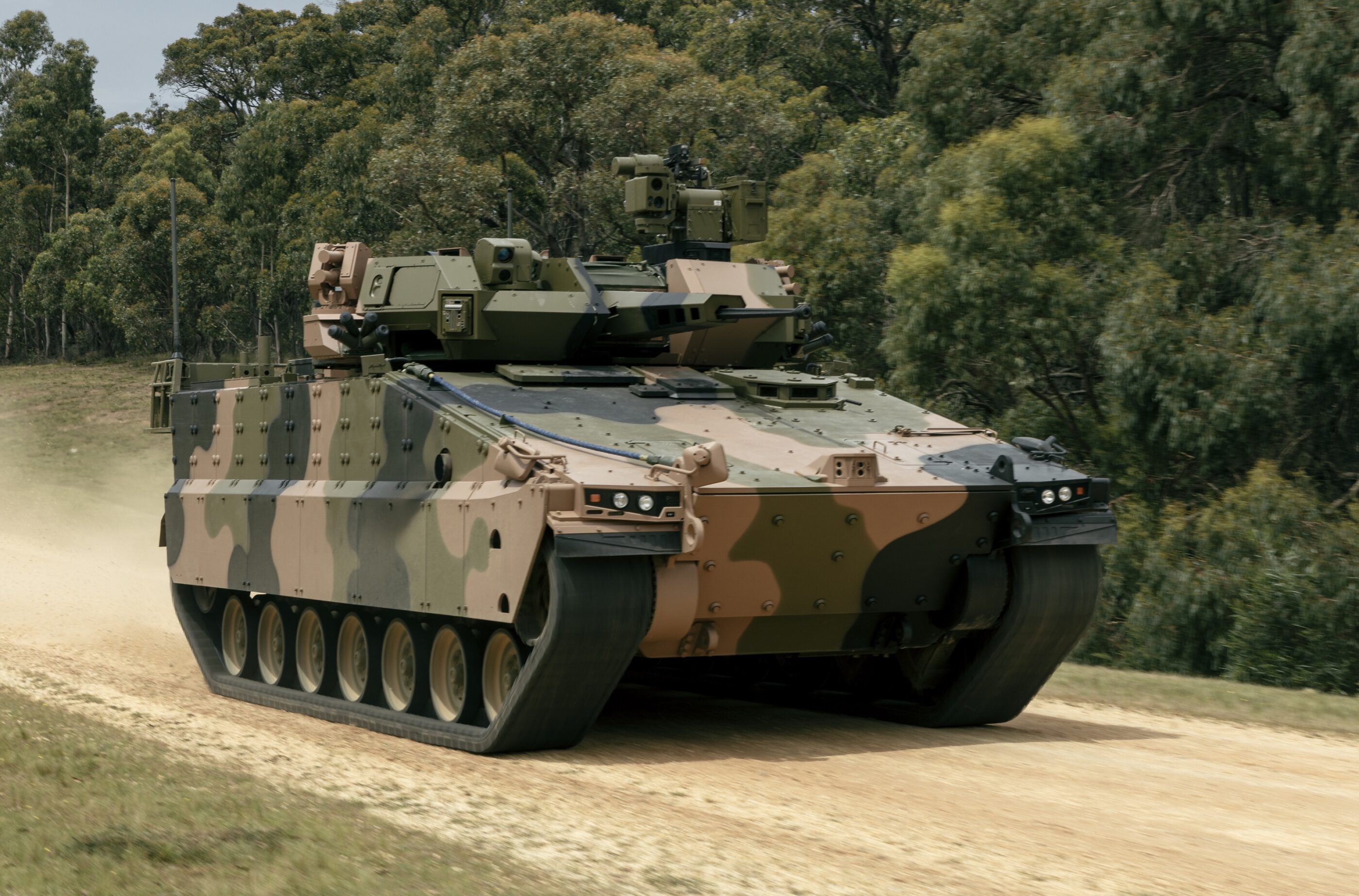 Hanwha Defense officially launches Redback combat vehicle in Australia