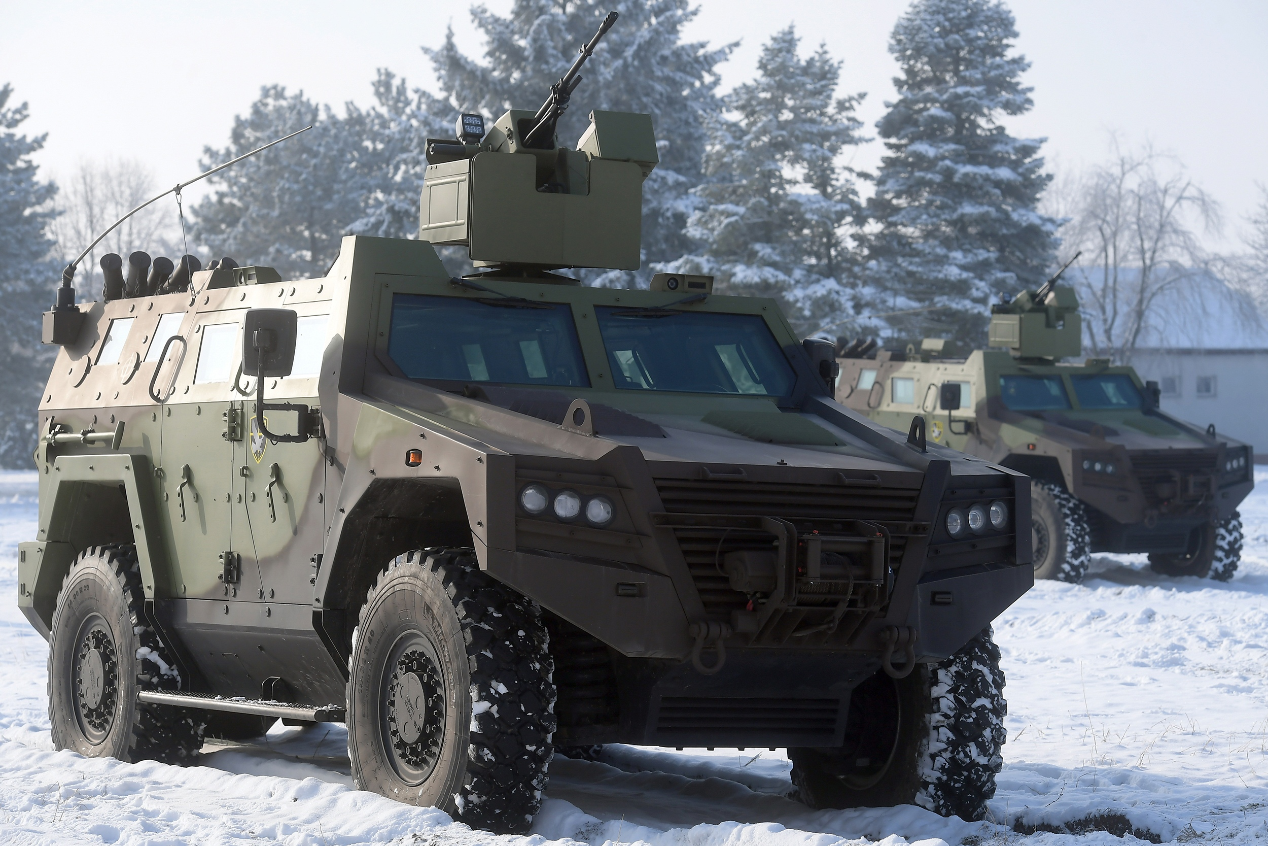 Serbian Armed Forces receives new Milos armoured fight automobiles