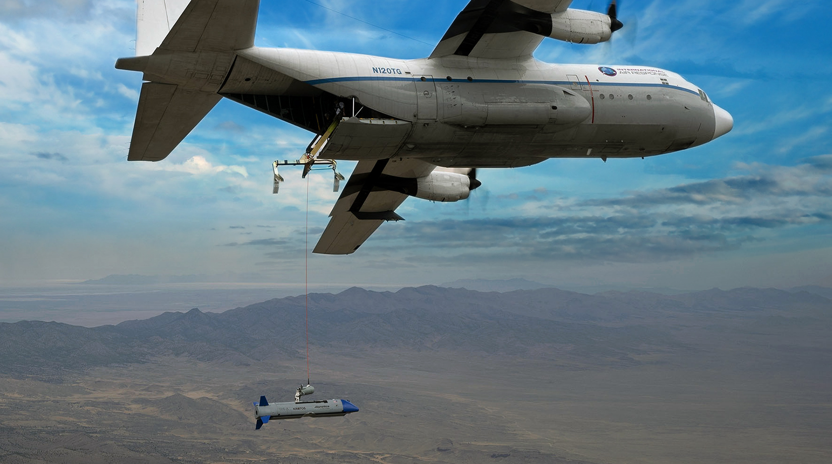 DARPA's air-recoverable Gremlins drone completes third test