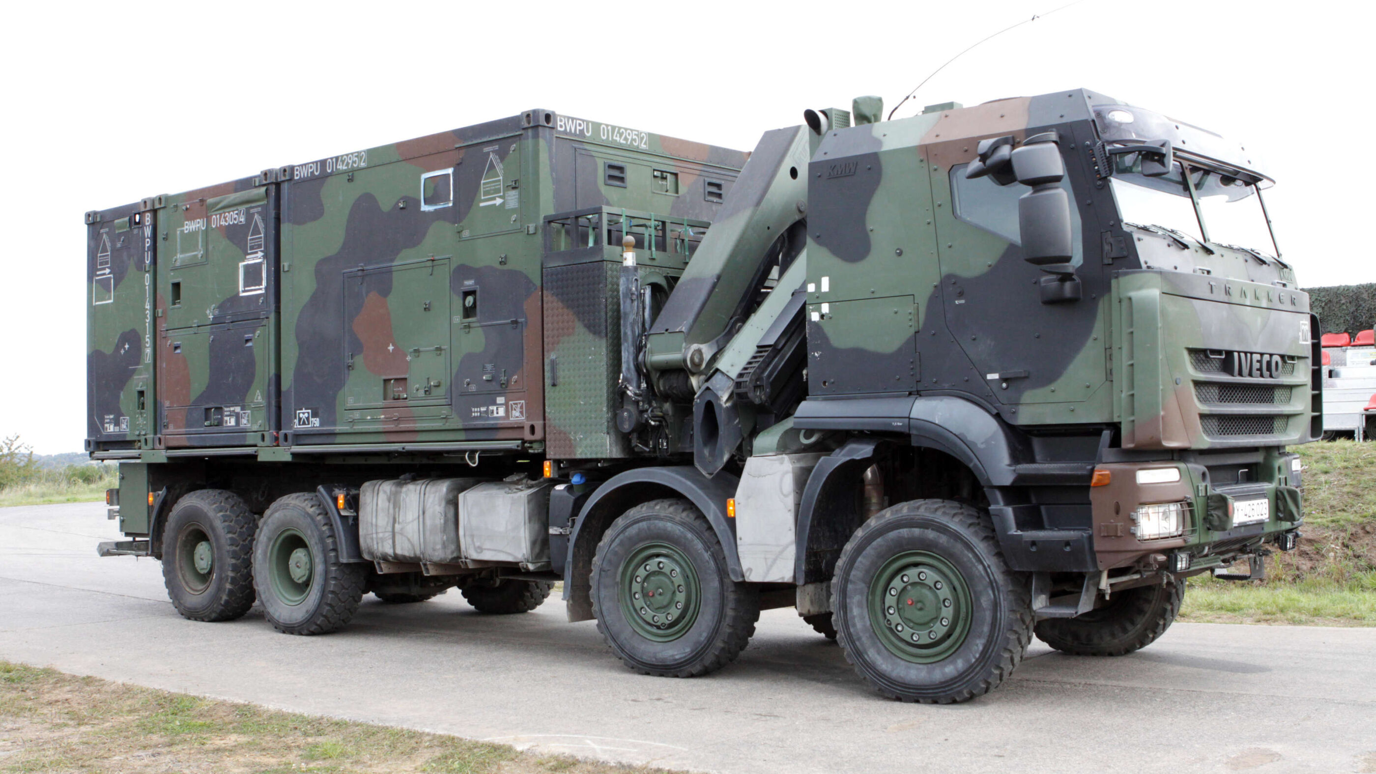 German Bundeswehr awards contract to Iveco for 1048 military trucks