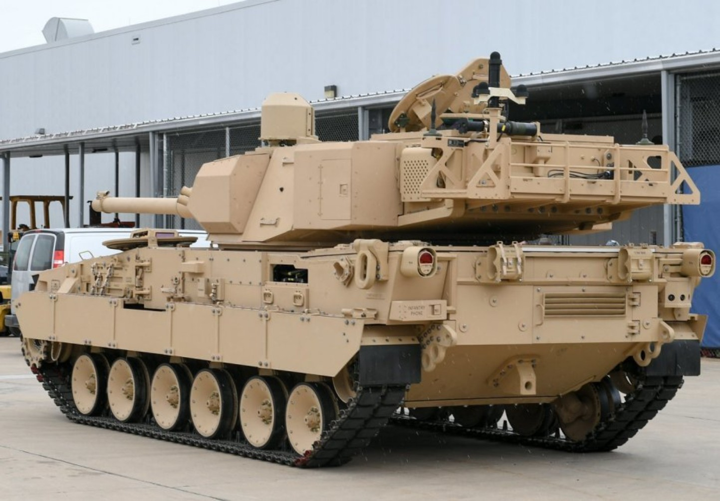 2021-02-14 13:34:42 | U.S. Army releases new 'market survey' in anticipation of light tank production