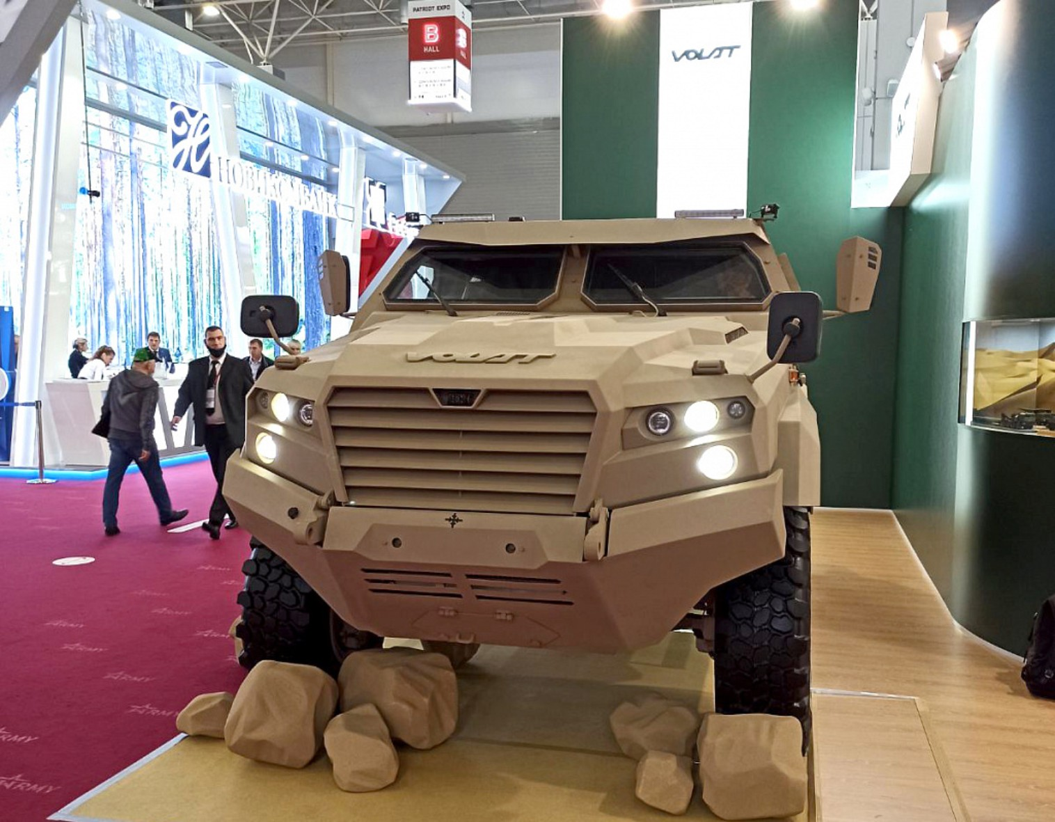 Belarus to showcase new light armoured vehicle at IDEX 2021