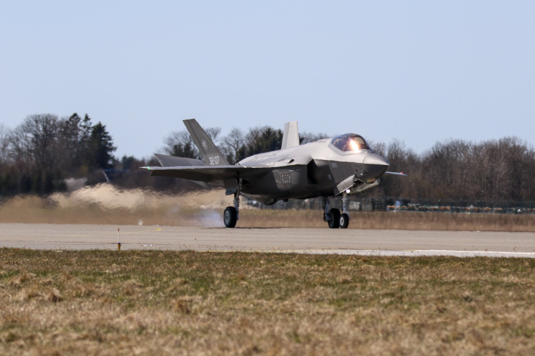 Italian Air Force deploys four F-35A stealth fighters to Estonia