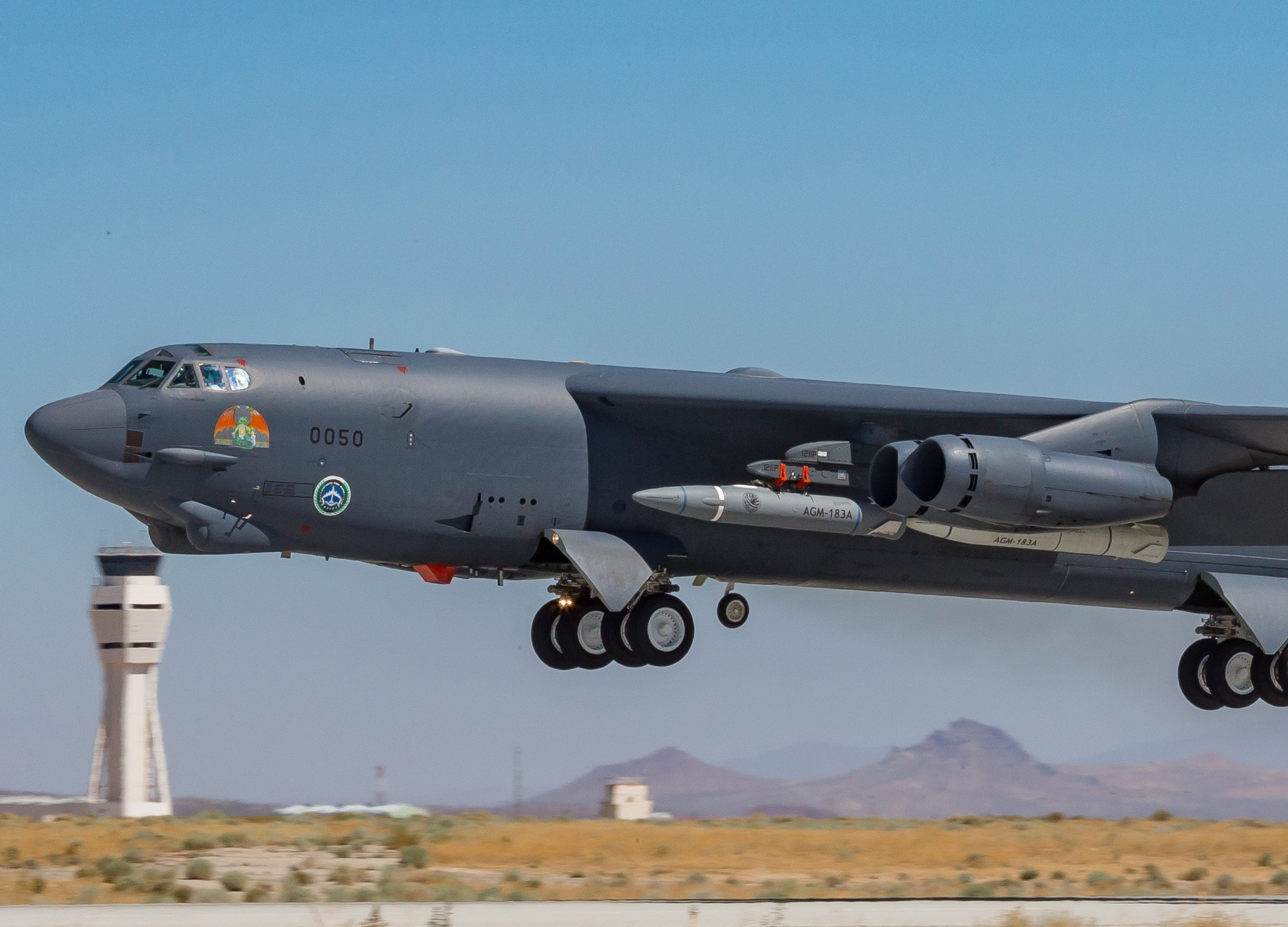 Second flight test for U.S. Air Force hypersonic missile fails