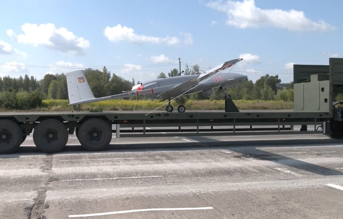 Ukraine to parade Bayraktar TB2 armed drone for first time
